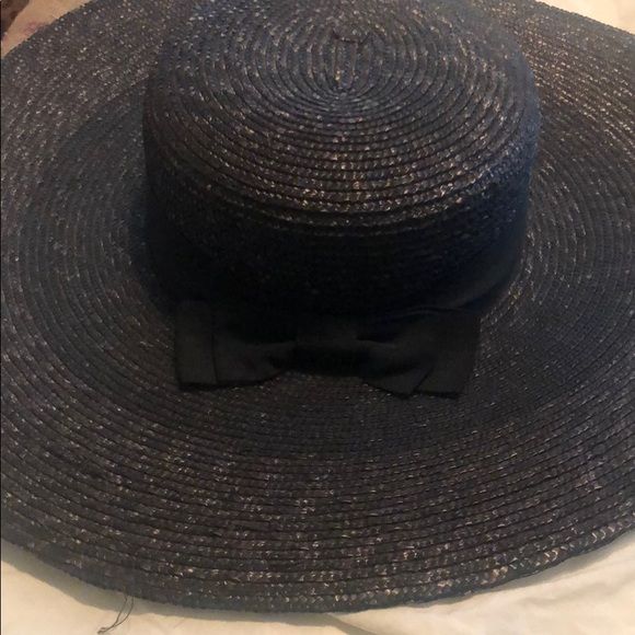 52dfe6600 Saks Fifth Avenue Bow Floppy Hat